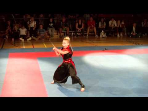 Jesse Jane McParland Weapons Form Flanders Cup 2016