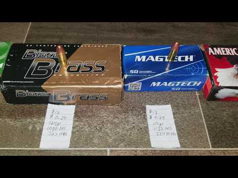 2018 Walmart 9mm Practice Ammo Comparison!!! Best Bang For Your Buck?