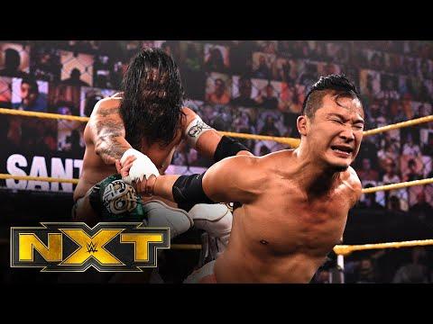 Kushida vs. Santos Escobar – NXT Cruiserweight Title 2-Out-Of-3 Falls Match: WWE NXT, May 11, 2021
