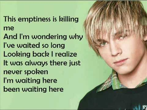 Jesse McCartney  Just so you know lyrics on screenwmv