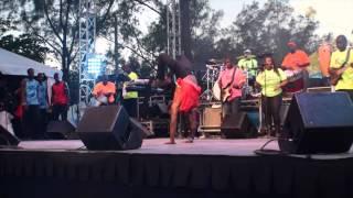 Da Rhythm Band at Bahamas Junkanoo Carnival Opening Ceremony