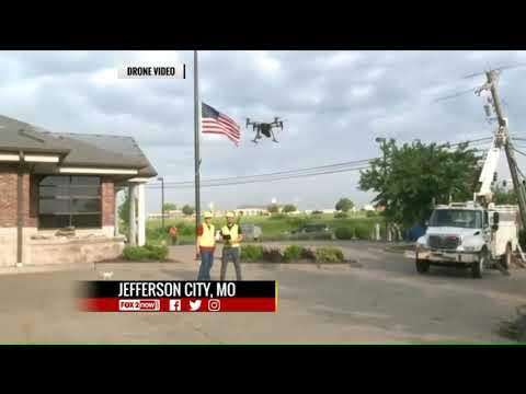 Ameren Missouri Using Drones To Help Restore Power To Areas Damaged By Tornadoes