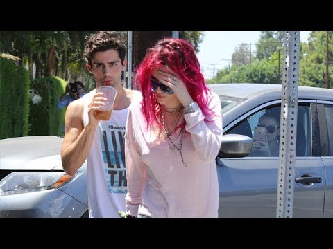 Bella Thorne And Friend Max Ehrich Hit Coffee Bar