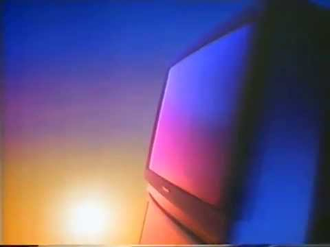 Panasonic 90s TV commercial: The One