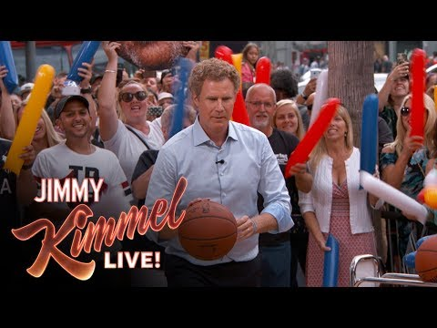 Three-Point Challenge with Will Ferrell