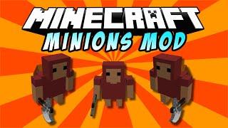 MINIONS MOD: Minions A Los Cuales Azotar - Minecraft Mods 1.7.10/1.7.2