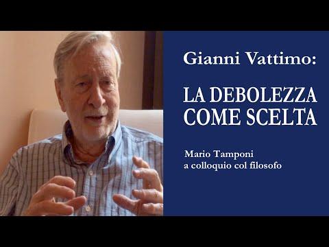 Gianni Vattimo: La debolezza come scelta - Colloquio col filosofo (di Mario Tamponi)