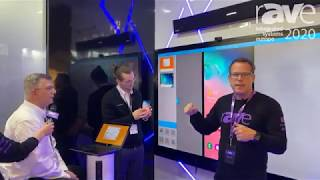 ISE 2020: WEAV Demo - Gary Kayye Interviews Jack Stephenson and Joel Steve
