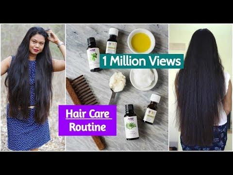 My Hair Care Routine for Long & Healthy Hair| Sushmita's Diaries