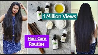 My Hair Care Routine for Long & Healthy Hair| Sushmita's Diaries