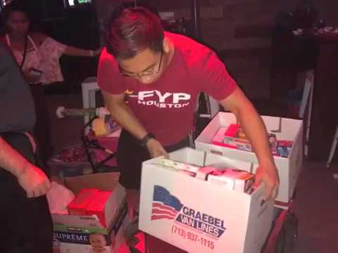 Pinoy volunteers, organizations work to help those affected by Harvey