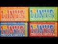 Tony's Chocolonely: Milk Chocolate, Caramel Sea Salt, Almond Sea Salt, Extra Dark Chocolate Review