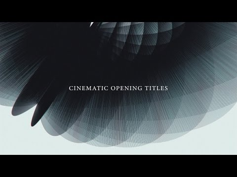 after effects template cinematic opening titles youtube. Black Bedroom Furniture Sets. Home Design Ideas
