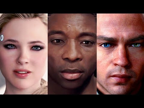 "DETROIT BECOME HUMAN: Heroes sing ""Hold on just a little while longer..."" song"