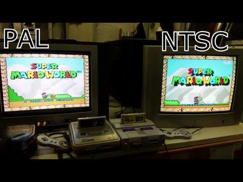 Super Mario World PAL vs NTSC