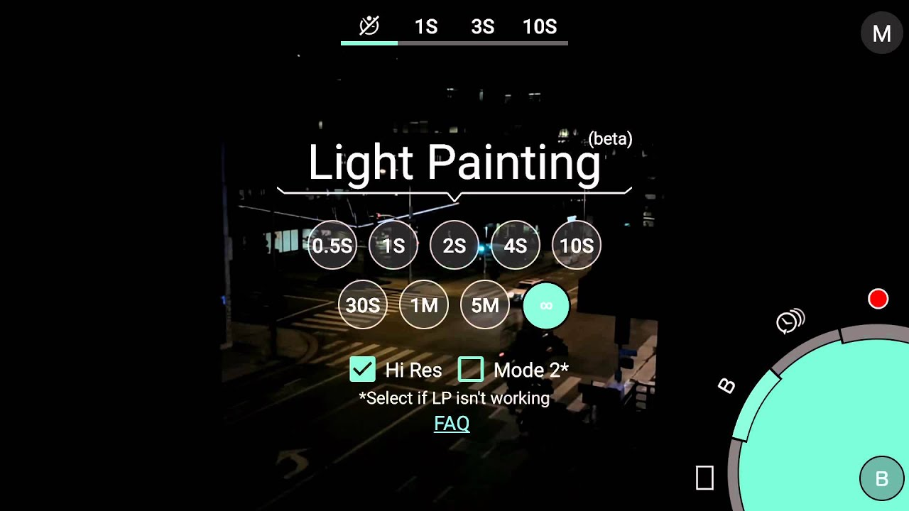 Light Painting with ProShot