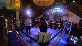 Ultra White Collar Boxing | St Albans | Wayne Dawsze VS Alex Collins