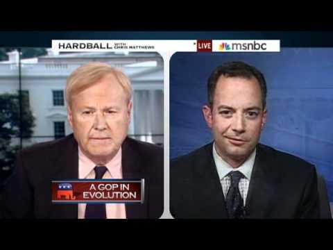 RNC Chair Reince Priebus spars with Chris Matthews on MSNBC
