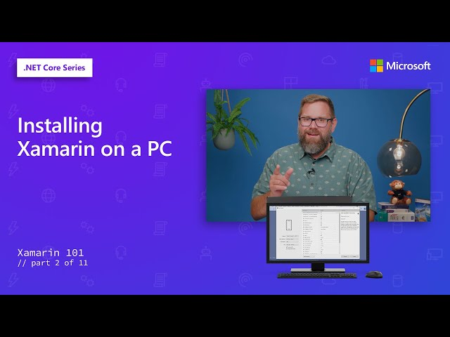 Installing Xamarin on a PC | Xamarin 101 [2 of 11]