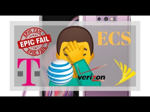 Samsung Galaxy Note 9 Carrier Information | Complete Fail | AT&T, Verizon, T-Mobile, Sprint