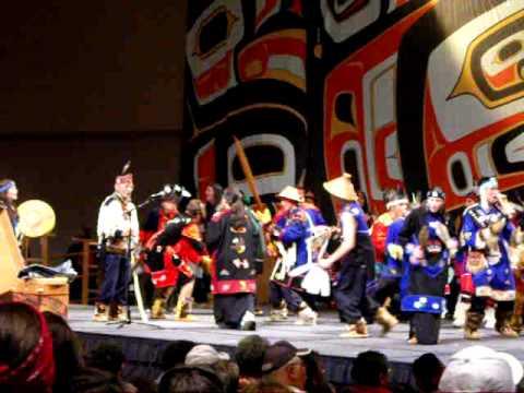 Mt. St. Elias Dancers, Tlingit Dance Group from Yakutat Alaska