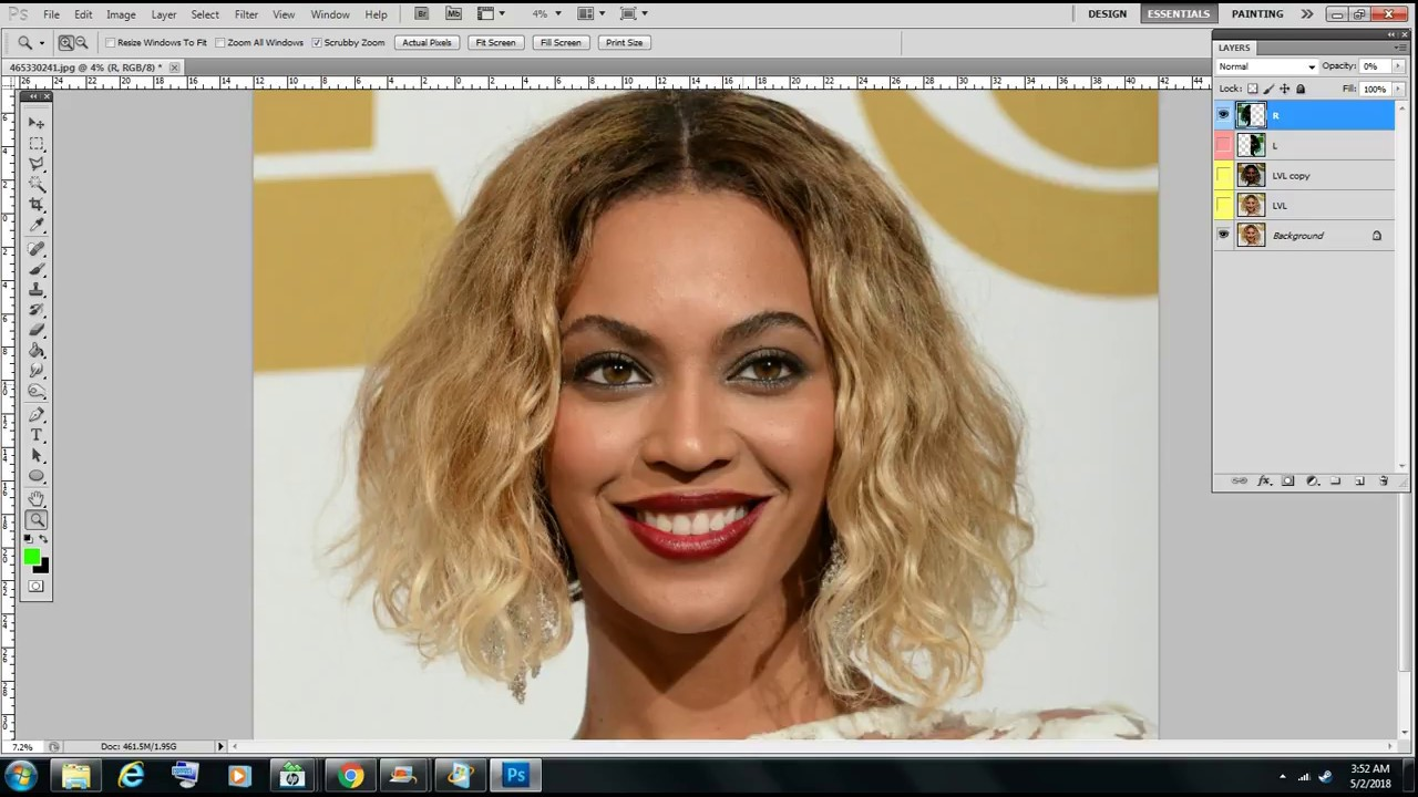 Beyoncé's Real Face