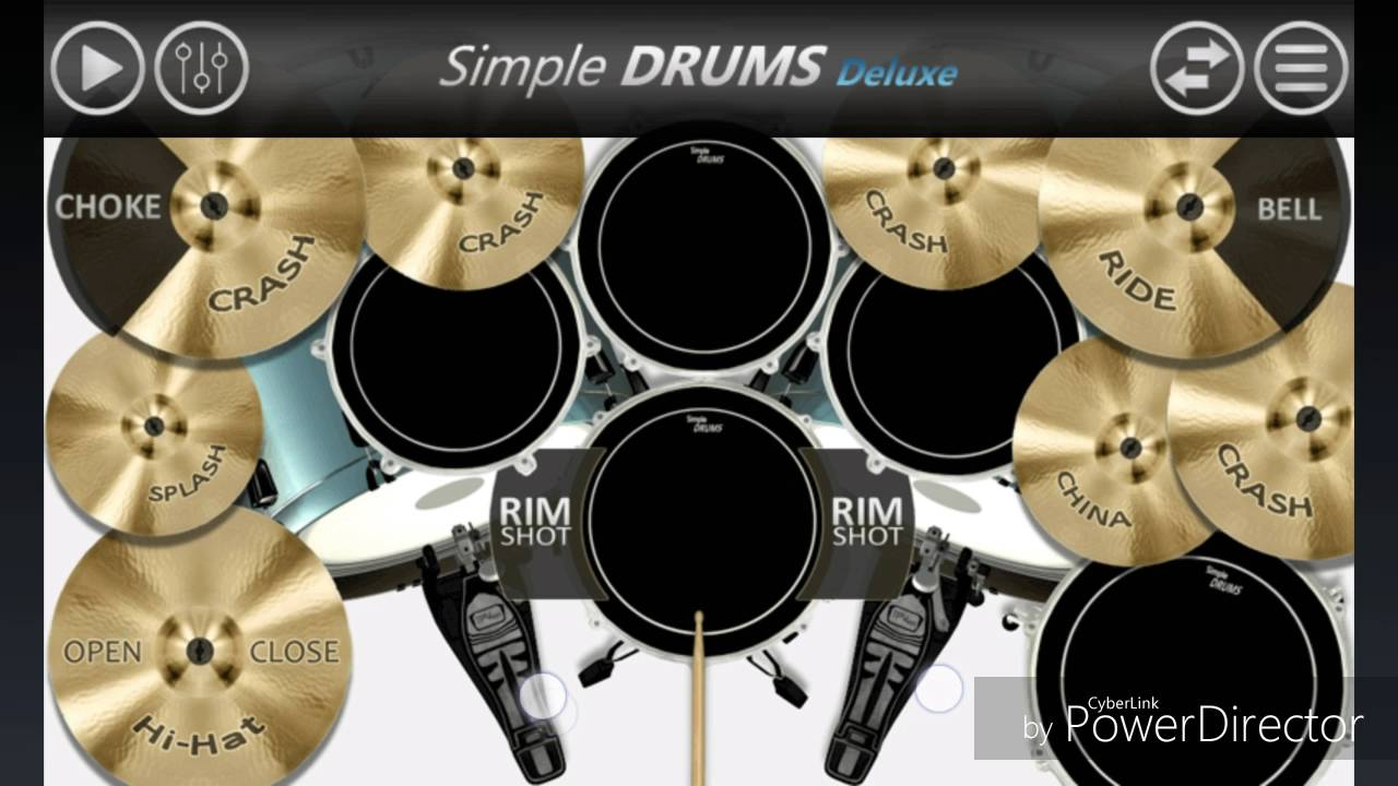 Avenged Sevenfold Almost Easy Drum Cover On Simple Drums Deluxe
