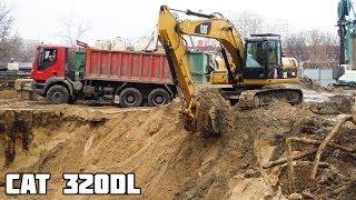 видео Гусеничный экскаватор CAT 320 DL