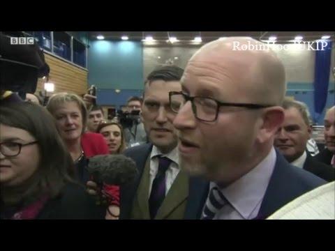 UKIP Leader Paul Nuttall doesnt win in Stoke