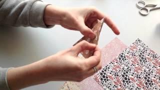 Tutoriel  - Comment faire un sapin de Noël en origami avec Gallica