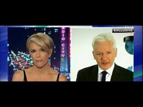 Megyn Kelly interviews Julian Assange Wiki Leaks