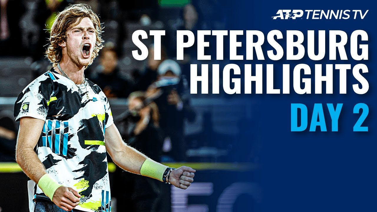 Rublev, Khachanov & Coric Power to Victory | St Petersburg 2020 Day 2 Highlights