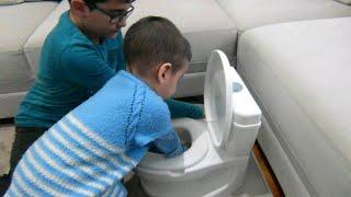 Berat'a Eğlenceli ve Eğitici Bebek Tuvalet Lazımlık