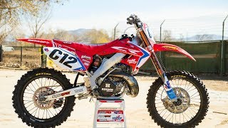 VP Racing Fuel's Kyle Moose found this 2004 CR250 in decent shape. ...
