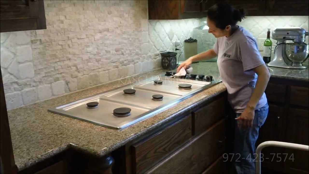Home Kitchen Cleaning KAS CLEANING SERVICES 972-423-7574 - YouTube