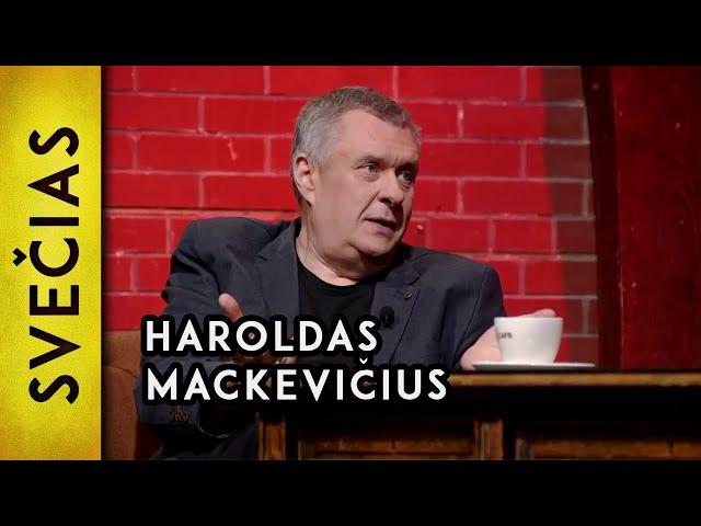 """""""Gyvenime esu dirb?s tik nenormal? darb?"""" – Haroldas Mackevi?ius"""
