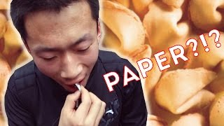 People In China Try Fortune Cookies For The First Time