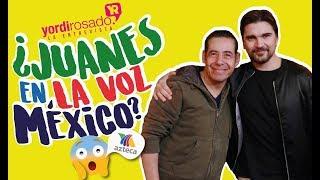 ¿Juanes en la voz mexico 2019? Y preguntas incómodas