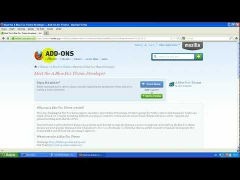 Mozilla Firefox Veya Google Chrome  Themes (Tema) AyarLama