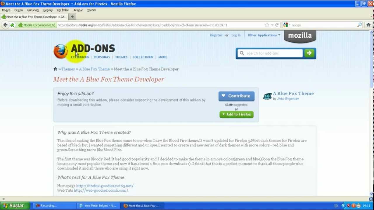 Google themes mozilla - Mozilla Firefox Veya Google Chrome Themes Tema Ayarlama
