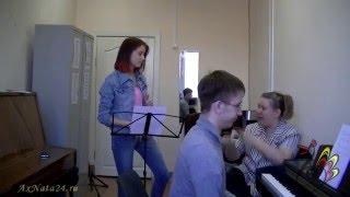 Урок вокала.Джаз-стандарт A Tisket, А Tasket в первом чтении