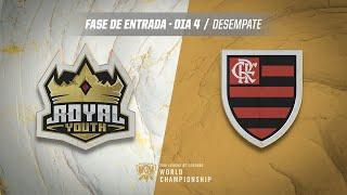 Mundial 2019: Fase de Entrada - Dia 4 | Royal Youth x Flamengo eSports (Desempate)