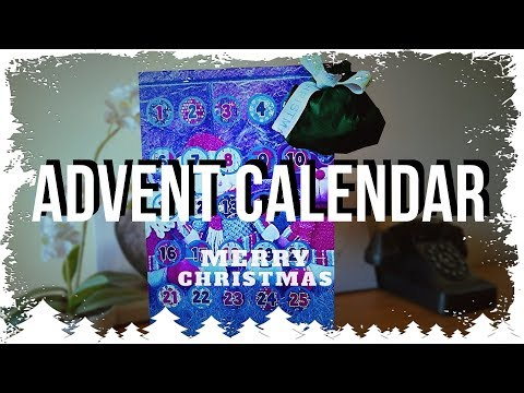 Handmade Reusable customizable Advent Calendar