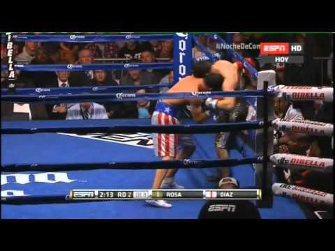 Jorge DIAZ vs Luis ROSA - Fight Resumen
