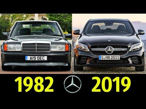 Mercedes Benz C-classe - Эволюция (1982 - 2019) ! История Модели !