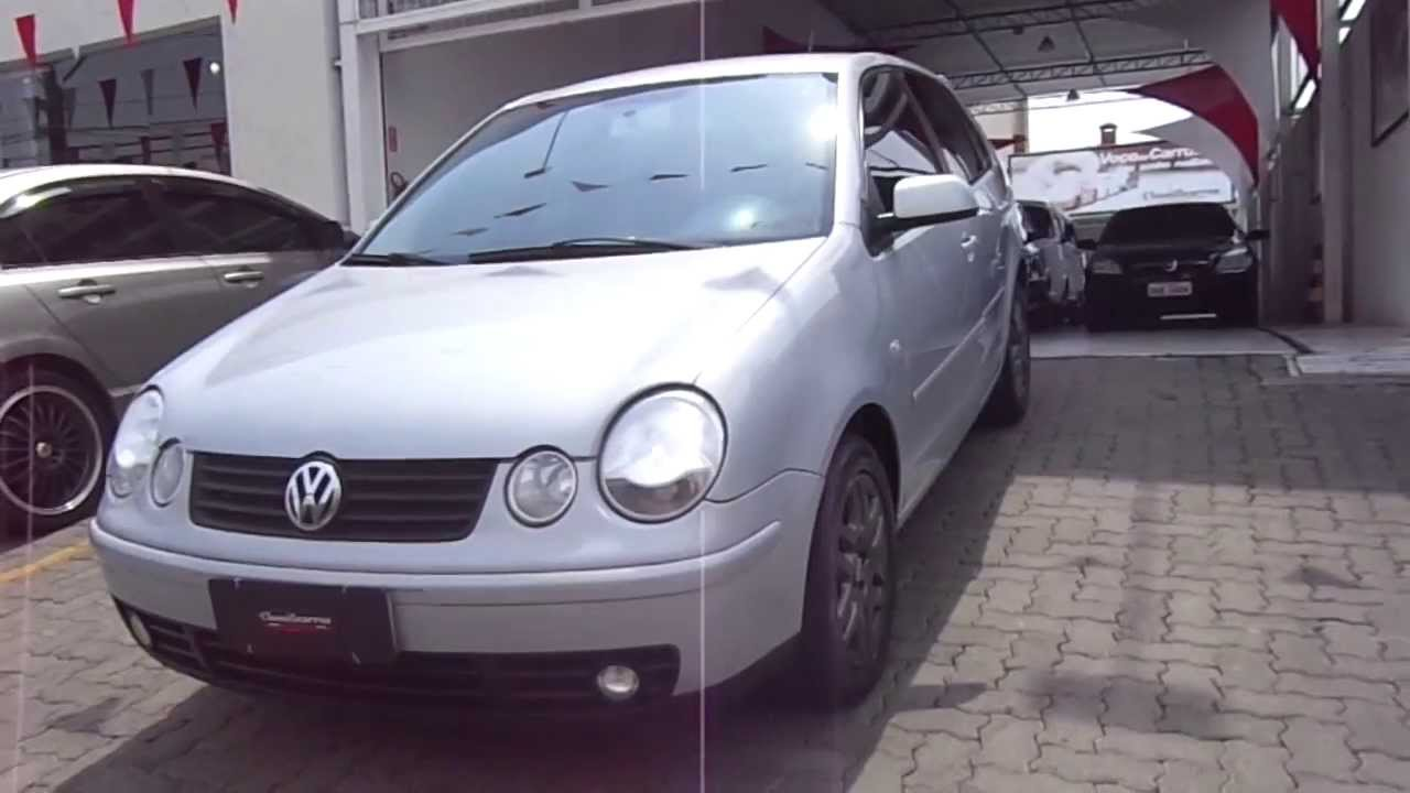 volkswagen polo 1 6 8v 4p 2004 youtube. Black Bedroom Furniture Sets. Home Design Ideas