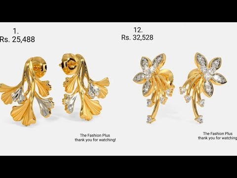 Latest Gold EARRING Design with Price
