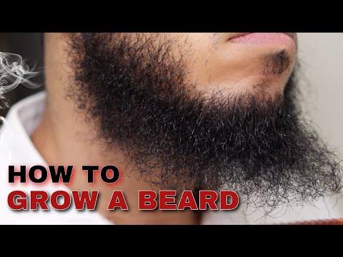 How to Grow a Beard Longer & Naturally: Beard Growth Guide for Men Part 1 (2018)