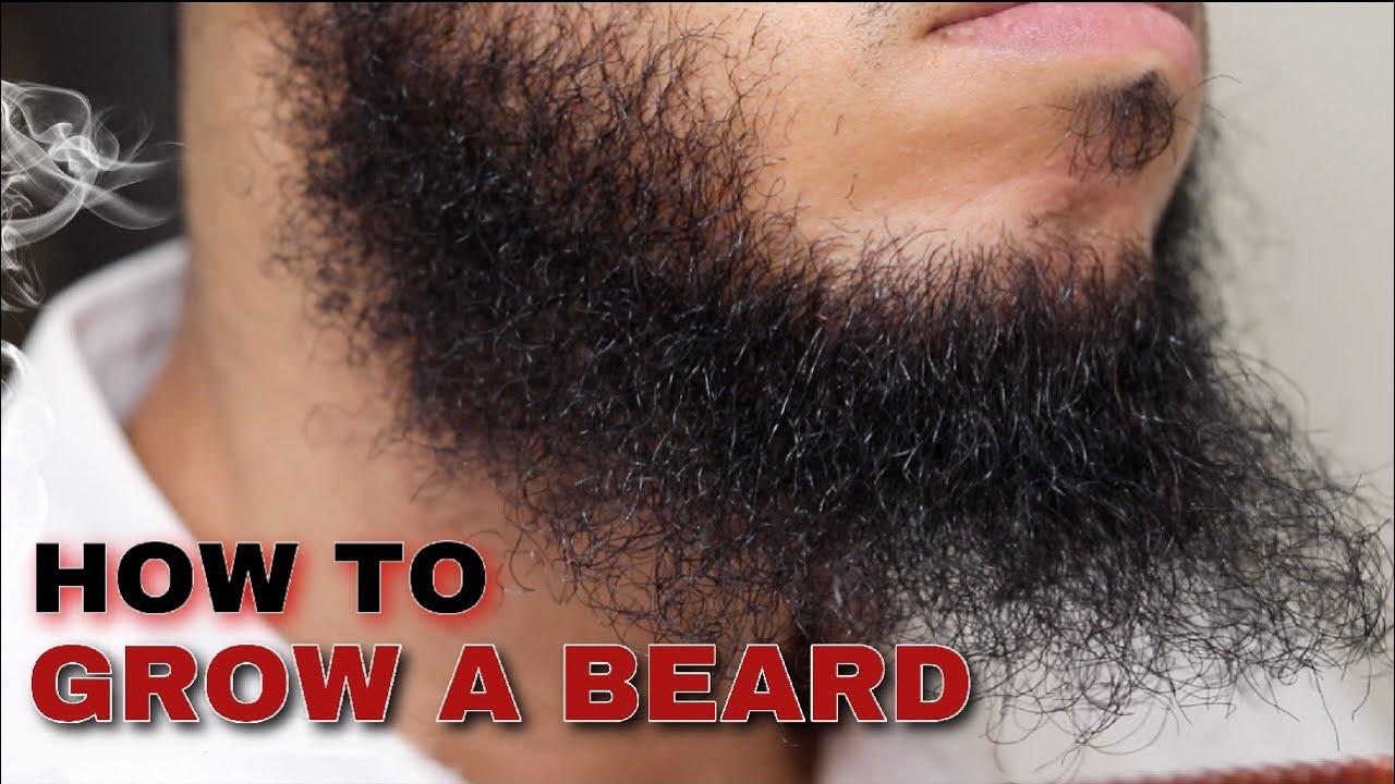 Beard Growth for Black Men: PROBLEMS SOLVED 2020