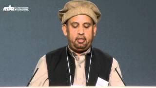 Urdu Poem with translation - Kis Qadar Zahir Hay Noor Uss Mabda-ul-Anwar Ka - Jalsa Canada 2013